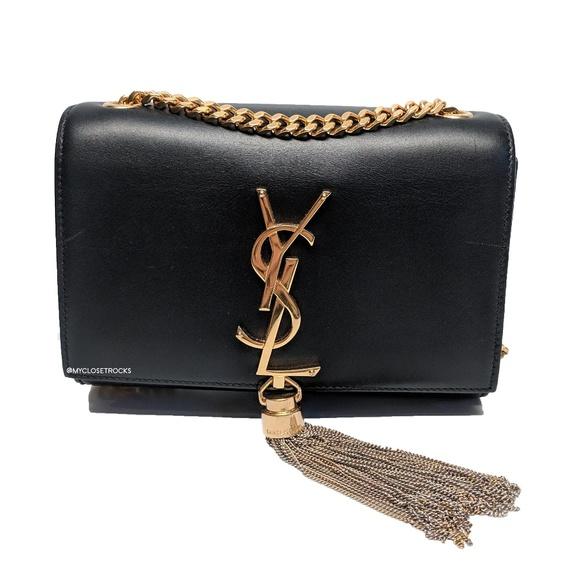 Saint Laurent Handbags - SOLD Saint Laurent Small Kate Tassle Bag